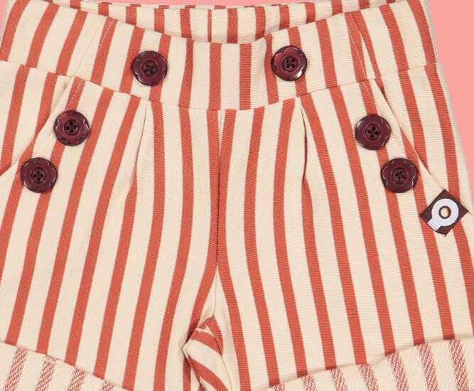 Kindermode 4funkyFlavours Sommer 2019 4funkyFlavours Shorts / Hose Fall In Love red Stripes #5002