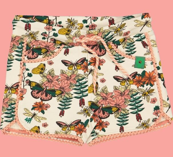 Kindermode 4funkyFlavours Sommer 2019 4funkyFlavours Shorts / Hose Flowers #5119