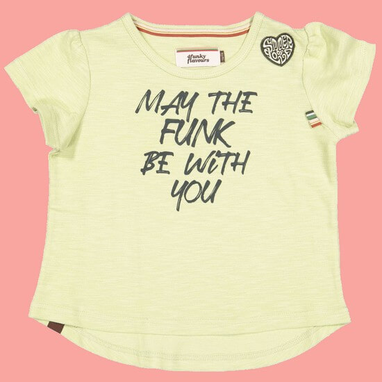 Kindermode 4funkyFlavours Sommer 2020 4funkyFlavours T-Shirt Ultimate Funk yellow #5779