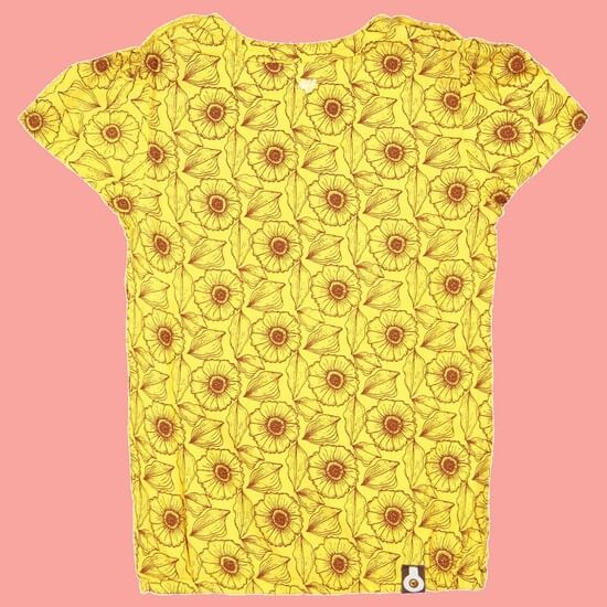 Kindermode 4funkyFlavours Sommer 2020 4funkyFlavours T-Shirt Reminiscing yellow #5797