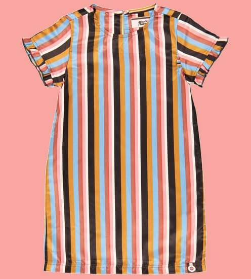 Kindermode 4funkyFlavours Sommer 2020 4funkyFlavours Kleid Sweet Stripes #5820