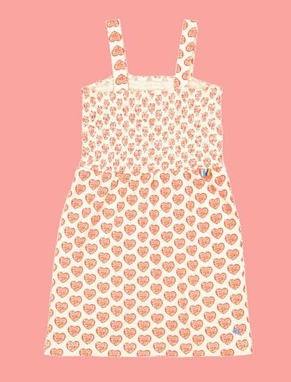 Kindermode 4funkyFlavours Sommer 2020 4funkyFlavours Kleid Fancy Dancer Hearts #5824