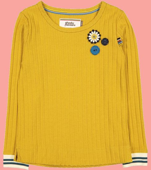Kindermode 4funkyFlavours Winter 2019/20 4funkyFlavours Shirt yellow #5380