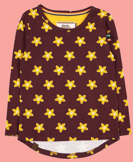 Kindermode 4funkyFlavours Winter 2019/20 4funkyFlavours Shirt yellow Stars #5425