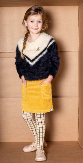 Kindermode 4funkyFlavours Winter 2019/20 4funkyFlavours Rock / Cordrock yellow #5376