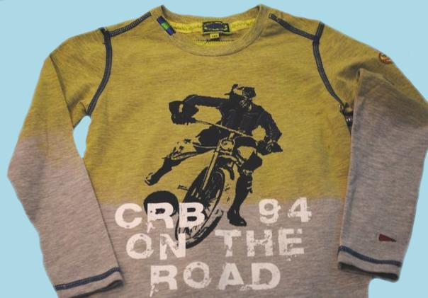 Kindermode Carbone Boy Sommer Carbone Shirt On the Road #31535