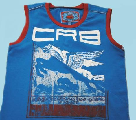 Kindermode Carbone Boy Sommer blaues Carbone Tank-Top #31548