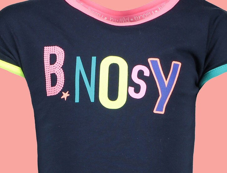 Kindermode B.Nosy Sommer 2019 B.Nosy T-Shirt Midnight blue #5456