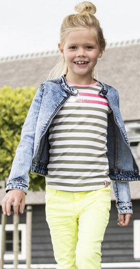 Kindermode B.Nosy Sommer 2019 B.Nosy Jeans electric yellow #5622