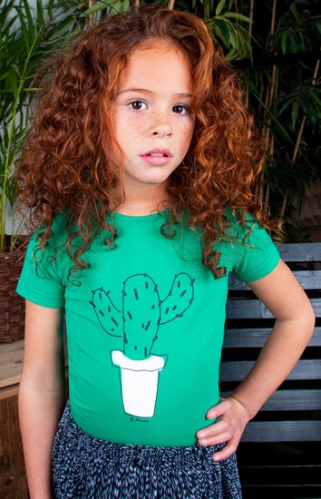 B.Nosy T-Shirt Cactus green #5462 Sommer 2021