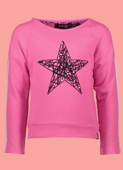 B.Nosy Shirt Star pink #5381 von B.Nosy Winter 2018/19