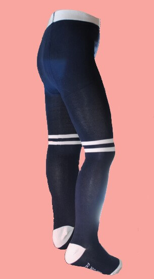 Kindermode B.Nosy Winter 2019/20 B.Nosy Strumpfhose stripes blue #5930