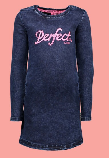 B.Nosy Kleid / Jeanskleid Perfect blue denim #5824 von B.Nosy Winter 2019/20