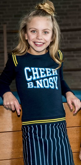 B.Nosy Kleid Cheer stripes blue #5852 - Winter 2019/2020