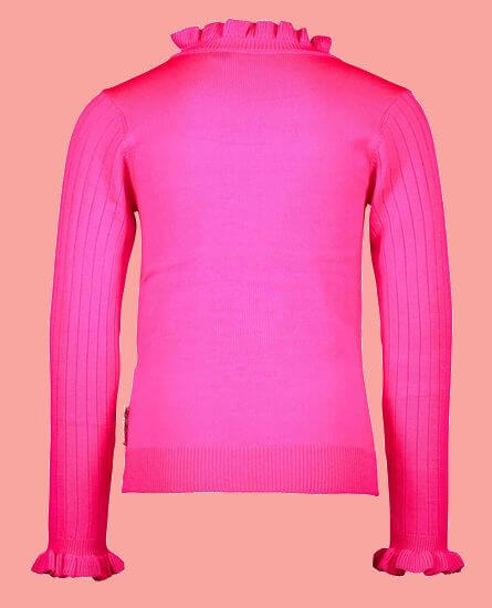 Kindermode B.Nosy Winter 2020/21 B.Nosy Pullover / Strickpullover pink #5332