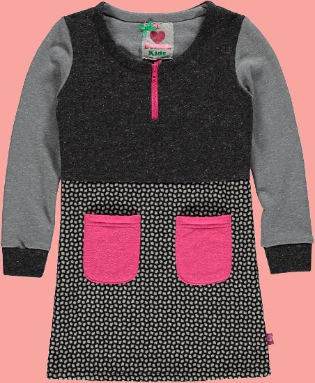 Kindermode Bomba for Girls Winter 2015/16 Bomba for Girls Kleid Jaquard black #117