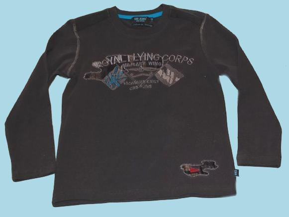 Kindermode CARBONE Boy Winter Carbone Shirt braun #23554
