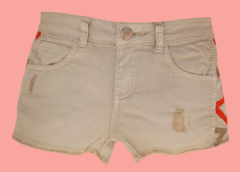 beige Fun & Fun Shorts / Hotpants von Fun & Fun Sommer