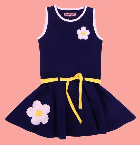 Happy Nr.1 Kleid Dancing Flowers darkblue #111 von Happy Nr.1 Sommer 2019