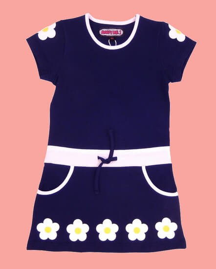 Happy Nr.1 Kleid Flowers darblue #113 von Happy Nr.1 Sommer 2019