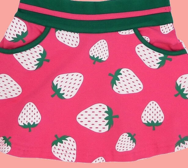 Kindermode Happy Nr.1 Sommer 2019 Happy Nr.1 Rock Strawberry pink #132