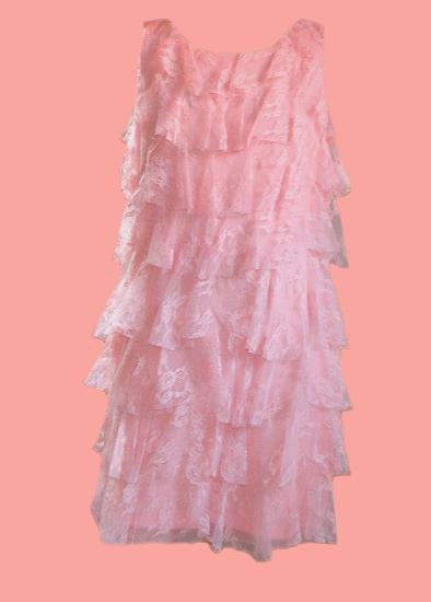 Kindermode Kate Mack / Biscotti Sommer rosa Kate Mack Kleid #223 meadow roses