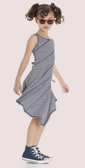 Kindermode Kate Mack / Biscotti Sommer Kate Mack / Biscotti Kleid stripe #512