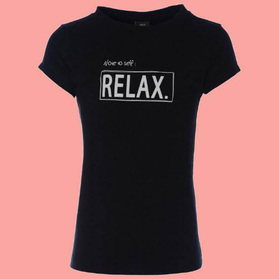 Kindermode KieStone Winter 2017/18 KieStone T-Shirt Relax black #5154