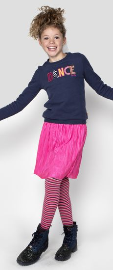 Kindermode Le Big Winter 2020/21 Le Big Strumpfhose Tanaya stripes multicolor #098