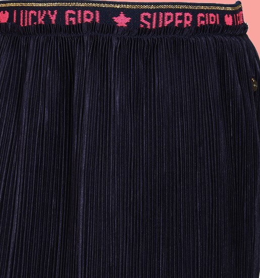 Kindermode Le Big Winter 2020/21 Le Big Rock / Plisseerock Tinka navy #175