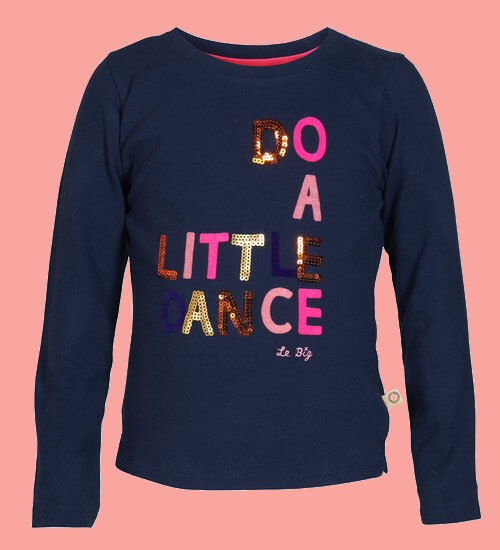 Kindermode Le Big Winter 2020/21 Le Big Shirt Terra Little Dancer navy #230