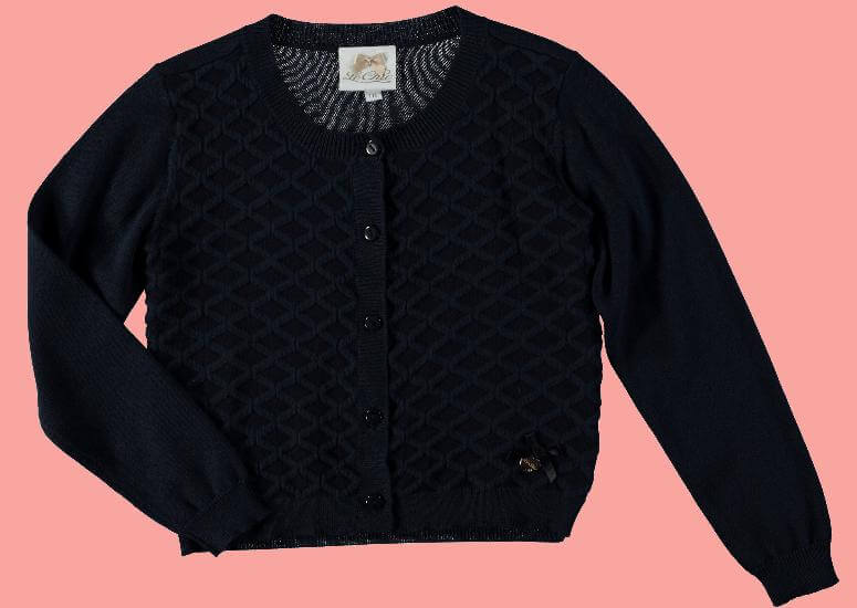 Le Chic Strickjacke / Cardigan blue navy Diamond #5300 von Le Chic PreSpring 2017