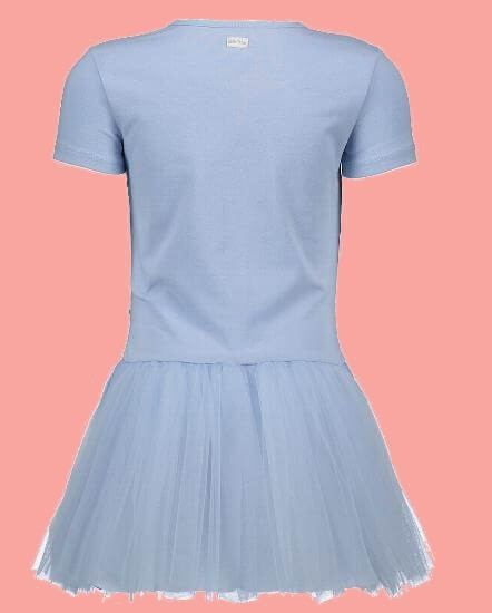Kindermode Le Chic Sommer 2018 Le Chic Kleid Happy Girls morning blue #5807