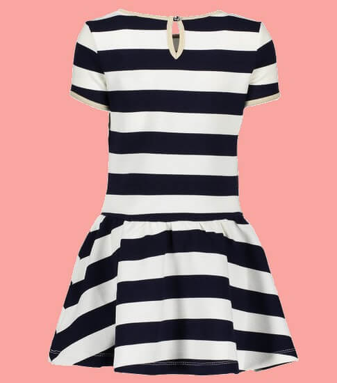 Kindermode Le Chic PreSpring 2019 Le Chic Kleid Stripes blue navy #5809