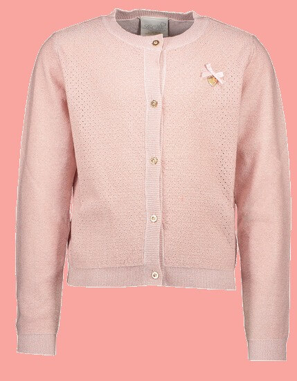 Le Chic Jacke / Cardigan Hearts pink #5300 von Le Chic Sommer 2020