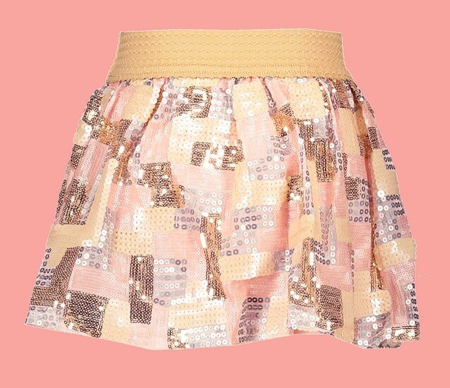 Kindermode Le Chic Sommer 2020 Le Chic Rock Square Sequins pink #5706