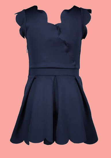 Kindermode Le Chic PreSpring 2020 Le Chic Kleid navy #5839