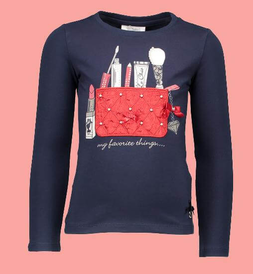 Le Chic Shirt Bag blue navy #5415 von Le Chic Winter 2017/18