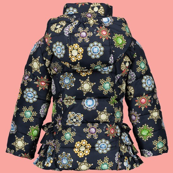Kindermode Le Chic Winter 2018/19 Le Chic Jacke / Winterjacke Twinkle blue navy #5200