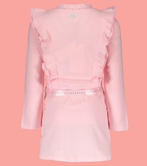 Kindermode Le Chic Winter 2018/19 Le Chic Kleid Ruffles pink crystal #5810