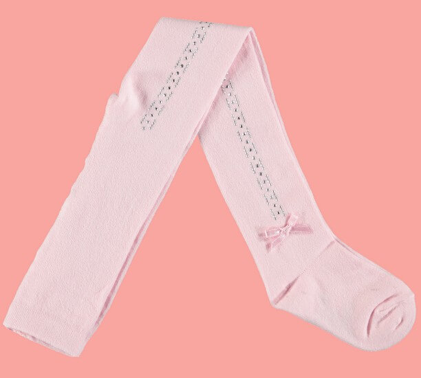 Kindermode Le Chic Winter 2018/19 Le Chic Strumpfhose Rhinestones pink crystal #5900