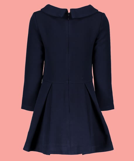 Kindermode Le Chic Winter 2018/19 Le Chic Kleid / Winterkleid blue navy #5806