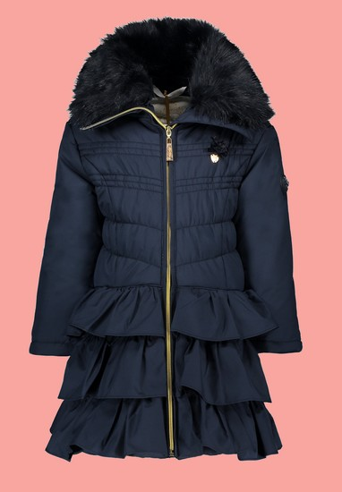 Le Chic Winterjacke / Mantel Doll Luxury blue navy #5214 von Le Chic Winter 2019/20