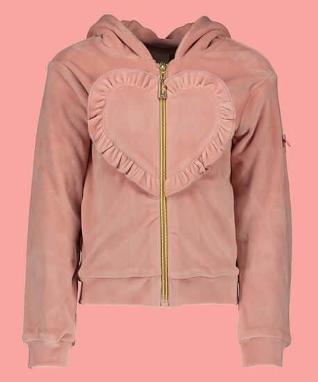 Le Chic Jacke / Hoodie Heart pink #5325 von Le Chic Winter 2019/20