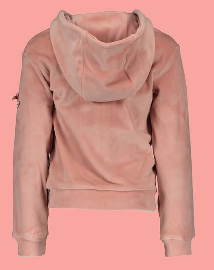 Kindermode Le Chic Winter 2019/20 Le Chic Jacke / Hoodie Heart pink #5325