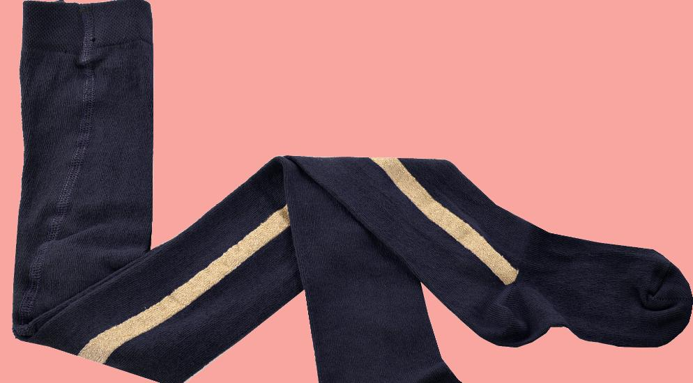 Kindermode Like Flo Winter 2016/17 Like Flo Strumpfhose navy #5010
