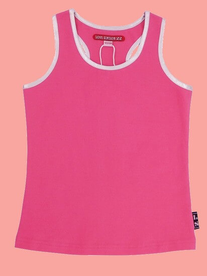 Kindermode LoveStation22 Sommer 2020 LoveStation22 Top/T-Shirt Sanne pink #472
