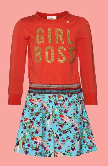 Kindermode Mim-Pi Winter 2019/20 Mim-Pi Kleid Girl Boss #1046