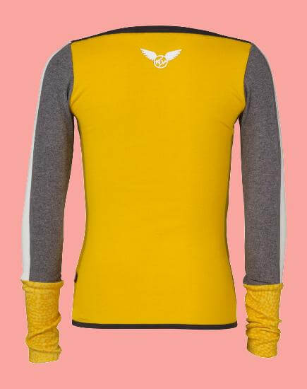 Kindermode Ninni Vi Winter 2017/18 Ninni Vi Shirt yellow #03