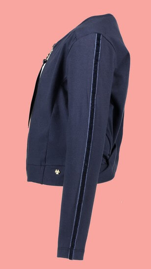 Kindermode Nono Early Spring 2019 Nono Sweatjacke / Cardigan Amalia navy #5301